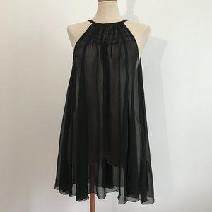 H&M Black Sheer Coverup